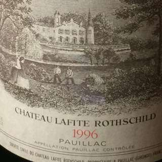 CHATEAU LAFITE ROTHSCHILD 1996 Bottle