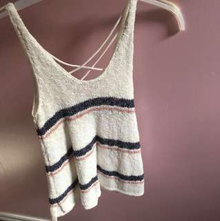 American Eagle knit tank top