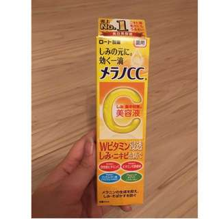 銷售第一樂敦Melano 高純度維他命C 亮白 淡斑精華液