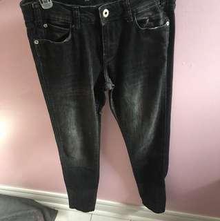 Zara skinny black jeans