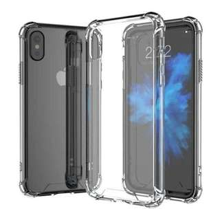 Free Shipping Instock Iphone X Clear Transparent Case