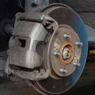 Honda civic fd1 stock caliper + Oem brembo 262mm rotor
