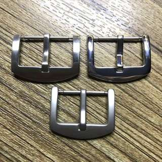 Leather Craft Watch Buckles 22/24mm In Matte, Brush Or Polished Finishing For Handmade Watch Straps Jamjarleather