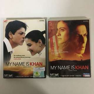 2010 My Name Is Khan DVD - Shah Rukh Khan