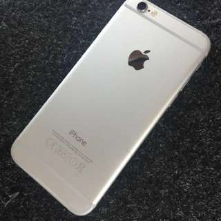 Iphone6 silver Original Globe Locked (Send your offer)