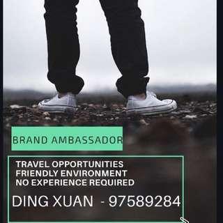 Brand/Event Ambassador, 1
