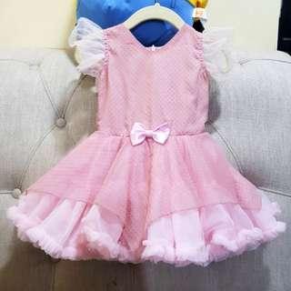 Birthday Gown Pink Tutu 12months