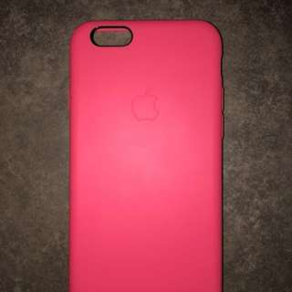 Original Apple silicone case 6/6s