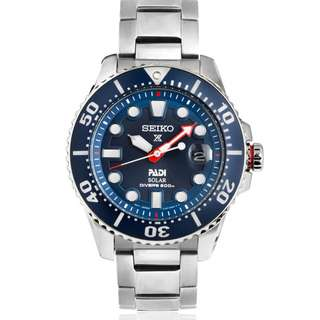 精工 SEIKO PROSPEX PADI SOLAR 光動能 Divers 潛水 SNE435P1 200M 防水 SNE435-P1