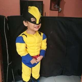 Wolverine X-Men Halloween or Birthday Superhero Costume (Toddler 2Y)