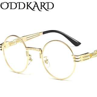 ODDKARD Vintage Steampunk Sunglasses for Men and Women