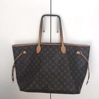 "Louis Vuitton ""Neverfull"" GM Monogram Canvas"