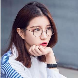 Vintage Round Glasses Spectacles