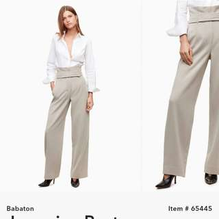 LOOKING FOR Aritzia jermaine pant in heather grey