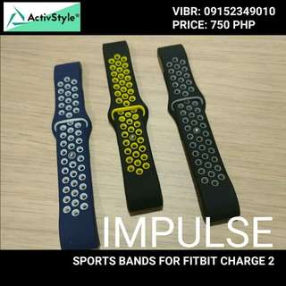 Sports straps for Fitbit Charge 2 and Fitbit Blaze