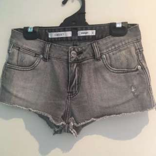 Wrangler Cheeky Denim Shorts