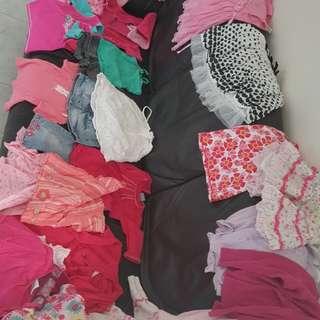 Bulk girls clothing size 1