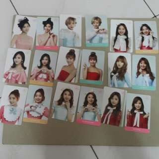 Twice postcard and photocard (member set sell)