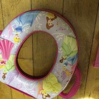 Toilet training seat USA disney princess pink girls