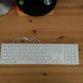 Like new Apple keyboard (wired)