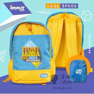 Kids school bag / Backpack - Kids Apparel Preorder Ends 26/10/17,3pm
