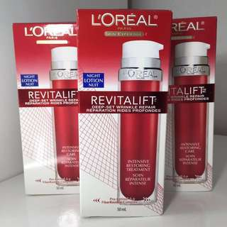 NEW L'Oreal Revitalift Wrinkle Face Treatment Cream
