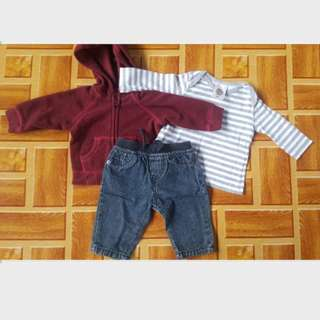 Selling as bundle for 0 to 3 mos 50% OFF SHIPPING FEE