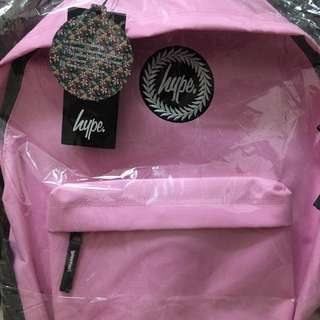 HYPE BACKPACK 淺粉後背包