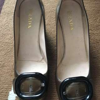 ✅20% off Authentic prada shoes size 361/2 true size