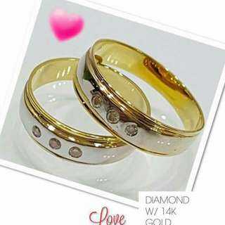 Authentic 14K WEDDING RING