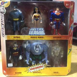 Justice League Unlimited 6pax Doomsday Exclusive