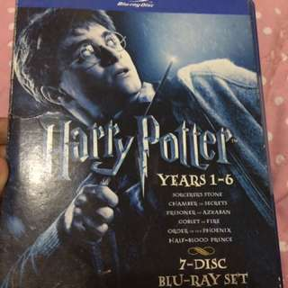 Harry potter 1-6