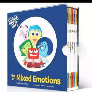 Disney Inside Out Box of mixed Emotion 情緒教育英文繪本套裝