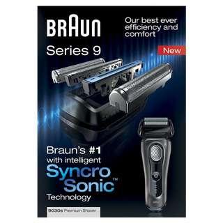 Braun 9070cc 日本版 鬚刨連清洗套裝