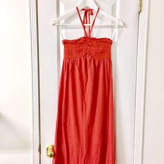 Hurley Halter Maxi Dress