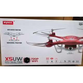 Original Syma X5UW Wifi FPV Quadcopter 720P HD Camera RC Drone