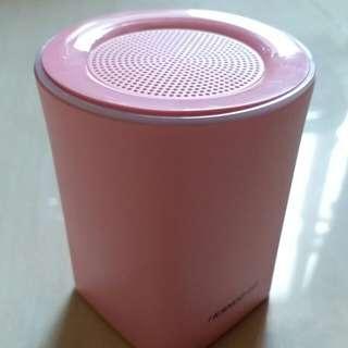 夢幻粉紅藍芽喇叭音樂播放器