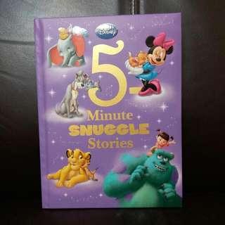 Disney 5-minutes snuggle stories 5分鐘睡前故事書