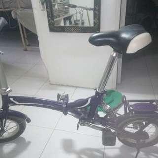 Folding bike small wheel