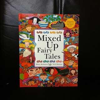 100% new Mixed up Fairy Tales 英文版,自創童話故事!