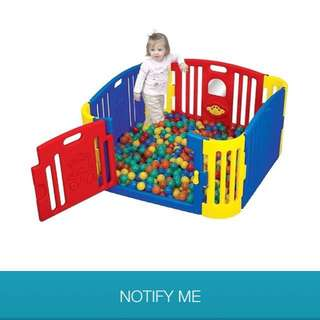 Playpen/play yard panel
