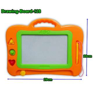 SIMPLE ERASABLE DRAWING BOARD FOR CHILDREN