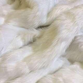 Faux Fur Fabric (white)