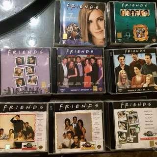 VCDs Friends & Disney 120pcs++