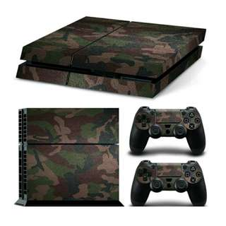 Protector Skin For PS4 Console & Controllers