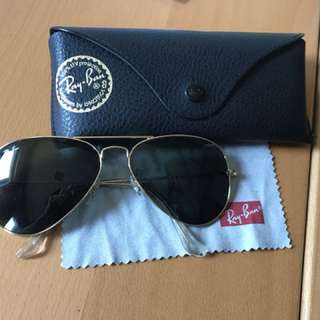 Authentic classic ray ban aviators
