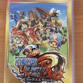 Switch One piece Unlimited World Red