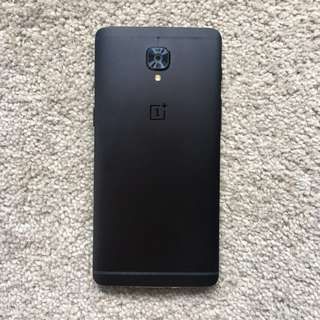 Oneplus 3T midnight black (128gb)