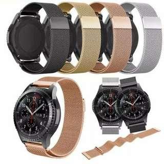 ( 送保護貼 WITH SCREEN PROTECTOR  ) 米蘭磁扣式錶帶 SAMSUNG GALAXY GEAR S3 S3 FRONTIER