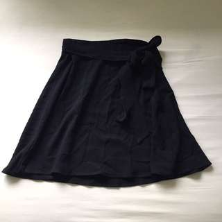 American Apparel demi wrap skirt